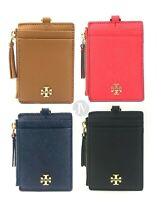 Tory Burch (60305) Emerson Saffiano Leather Lanyard Id Wallet