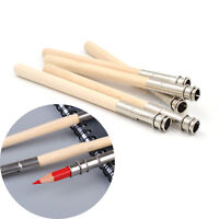5 Pcs Pencil Extender Adjustable Wooden Lengthener Holder Painting Drawing Tool