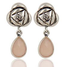 Black Rhodium Plated Earrings Wedding Silver Plated Gemstone Fashion Jewelry