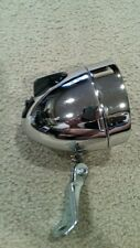 BULLET BICYCLE HEADLIGHT CHROME  ,STINGRAYS,  OLD SCHOOL VINTAGE  LOOK