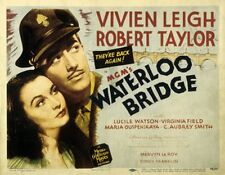 Waterloo Bridge - 1940 - Vivien Leigh Robert Taylor Mervyn LeRoy b/w film DVD