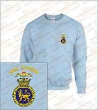 HMS SUPERB Embroidered Sweatshirts