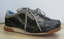 Ladies Diesel Black/Grey Lace Up Trainers Casual Shoes - UK Size 5 #9C