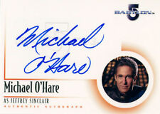 The Complete Babylon 5 Autograph A1 Michael O'Hare as Commander Sinclair
