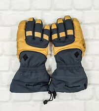 Black Diamond Leather Gore-Tex Insulated Pro Gloves Size L