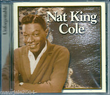 Nat King Cole. Unforgettable (2000) CD NUOVO  Mona Lisa. Nature boy. Paper Moon