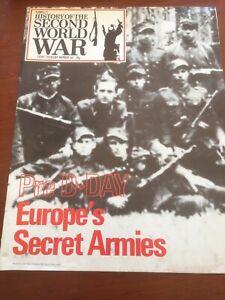 purnells history of the second world war No.64 Europes Secret Armies Magazine