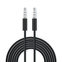 3.5Mm audio cable aux male to male car cable 4 ​​core audio cable PipGK