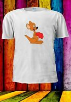Hippety Hopper Kangaroo Boxer Cartoon Funny Men Women Unisex T-shirt 3644