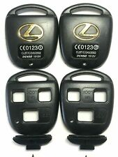 2 For 2004 2005 2006 Lexus RX330 Keyless Remote Key Fob Uncut Blade Shell Case
