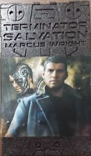 1/6 Hot Toys MMS 100 Terminator Salvation Marcus Wright Sam Worthington