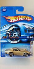 Hot Wheels 69 Corvette ZL-1 2006 First Editions 7 Gold