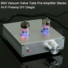 6N3 Audio Vacuum Valve Tube Pre-Amplifier Buffer Stereo Hi-Fi Preamp DIY Desgin
