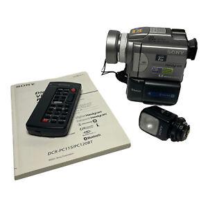 Sony DCR-PC120 HD MiniDV Bluetooth 1.5 MP Camcorder Transfer MiniDV Videos