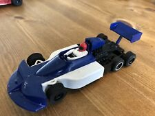 Stunning Scalextric Pre Production C129 March 771 Part Decorated Car Blue