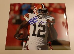 Josh Gordon signed autographed 8x10 photo Cleveland Browns