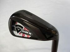 New Ladies Callaway RAZR X Black Single 6 Iron Graphite Womens RAZRX Black