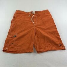 New listing Ralph Lauren Polo Swim Trunks Adult Extra Large Orange Blue Bathing Suit Men
