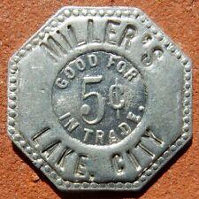 LAKE CITY Colorado R8 TOKEN ⚜️ Miller's E. A. SCHMIDT Co.