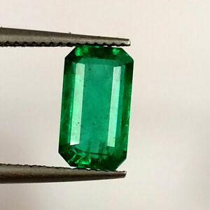 8.65 Carat Natural Beautiful Zambian Pear Cabochon Emerald Loose Gemstone 17.00X10.00 MM IZ 166