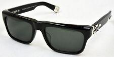 NEW Chrome Hearts Sluss Bussin Sunglasses Black Zeiss Lens 57-19-144 Dagger