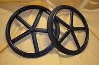1 Paar Rollstuhlräder  24 Zoll /12,7mm/ Vollgummireifen /  Super Qualität