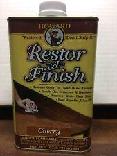 Howard Original Restor-A-Finish 1 Pt Cherry Wood Furniture Restorer Rf9016