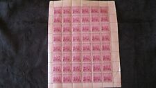 US Stamps, Landing of Swedes and Finns, sheet of 48, 3 cent stamps in good shape