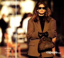 1991 Capezio Bags sexy Cindy Crawford wearing sunglasses MAGAZINE AD