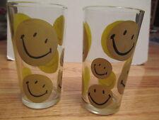 """Vintage SMILIE (SMILE) FACE 5"""" Glass"""