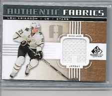 11-12 2011-12 SP GAME USED LOUI ERIKSSON GOLD AUTHENTIC FABRICS JERSEY LE STARS