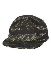 NEW Yupoong Jockey Flat Bill Cap 100% cotton 5 panel Jockey style Mens Hat 7005