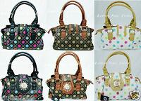 Fashion Women Tote Faux Leather Lion Head Print Handbag/ Shoulder Bag purse#1156