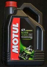 4 Liter Motul 5100 ester Motorrad Öl  4T Motoröl 10W-50 MA2 10W50