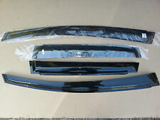 Honda JAZZ 2008-2012 Weathershields Visors (4pcs) Slim Weather Shields Tinted