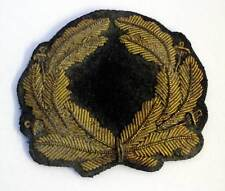 Zeppelin Officer 'LZ' Cap Hat badge Wreath Pre - 1936 WW2 WWII Airship Aged