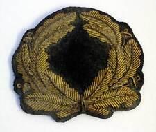 Nazi Period Pre - 1936 Zeppelin Officer 'LZ' Cap Hat badge Wreath NSDAP WW2 Aged