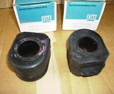 82 - 85 GM Camaro Front Sway Bar Bushings NOS 473744