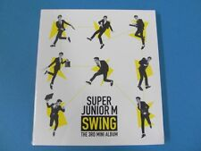 SUPER JUNIOR M - SWING [3RD MINI ALBUM] CD (SEALED) $2.99 S&H