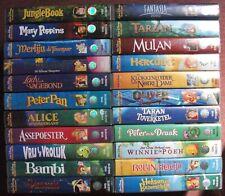 Disney Classics VHS 22x videotape from 1996-2000 Dutch Nederlands