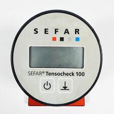 USED SEFAR  Digital Net Yarn Tension Meter TENSOCHECK 100