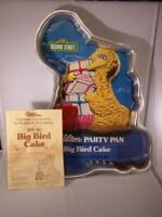 Wilton Sesame Street BIG BIRD Cake Baking Pan & Insert #502-2065 Birthday