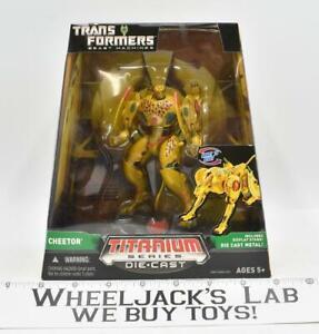 Cheetor Titanium Die-Cast 2006 Transformers Universe Hasbro Action Figure
