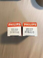 Philips 316398 120V 600W DYS/DYV Halogen Bulbs