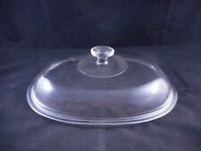 """PYREX Glass Lid Cover for 4 Quart Baking Dish 11.5"""" Wide x 9.75"""" Deep 1/PACK"""