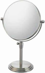 Kimball & Young 5x-1x Brushed Nickel Classic Adj Vanity Mirror 81775 $160