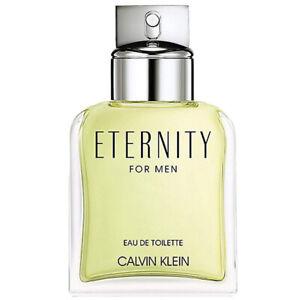Calvin Klein ETERNITY FOR MEN Eau de Toilette 100ml *** GENUINE *** PLEASE READ