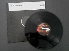 """RARE U2 CITY OF BURNING LIGHT 12"""" EP RECORD PROMO COPY TSUNAMI RECORDS EU"""