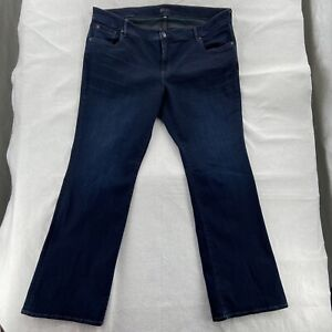 KUT from the Kloth Jeans HighRise Women's Size 24W Whiskered Stretch