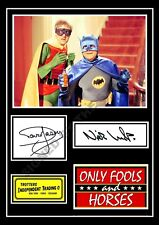 ONLY FOOLS AND HORSES SIGNED PRINT DAVID JASON NICHOLAS LYNDHURST